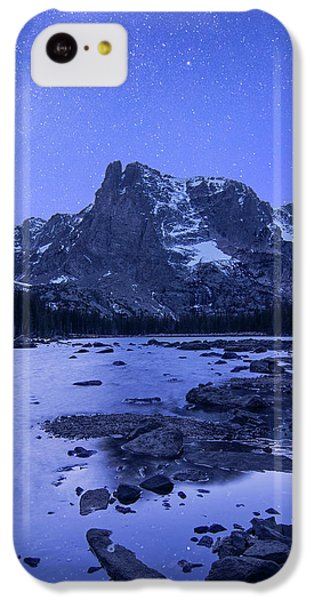IPhone 5c Case featuring the photograph Notchtop Night Vertical by Aaron Spong