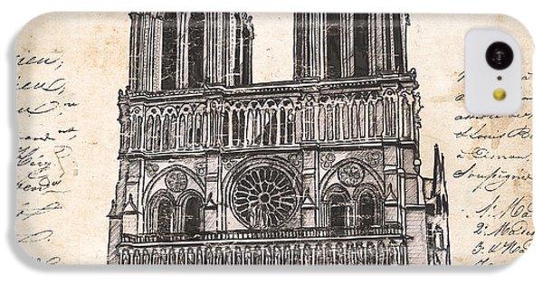 Notre Dame De Paris IPhone 5c Case by Debbie DeWitt
