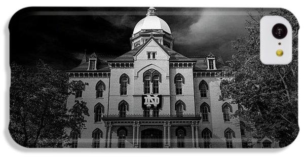Notre Dame University Black White 3a IPhone 5c Case