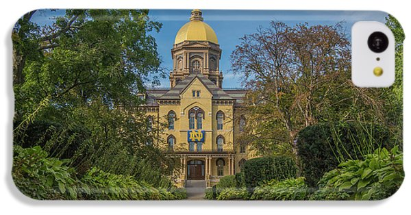 Notre Dame University Q IPhone 5c Case by David Haskett