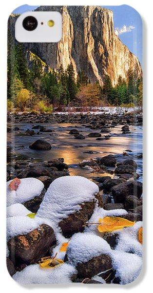 Mountain iPhone 5c Case - November Morning by Anthony Michael Bonafede