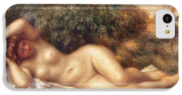 Nudes iPhone 5c Case - Nude by Pierre Auguste Renoir