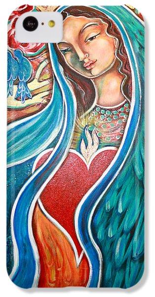 Bluebird iPhone 5c Case - Nuestra Senora Maestosa by Shiloh Sophia McCloud