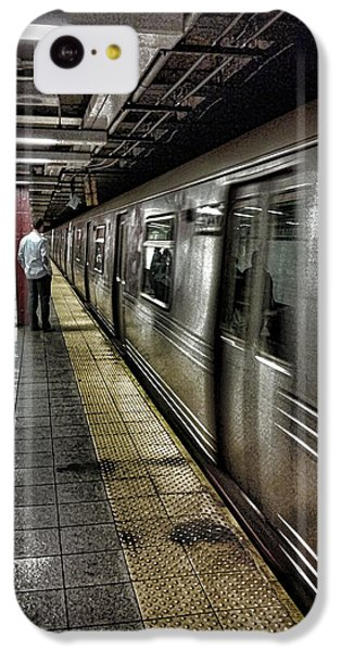 Nyc Subway IPhone 5c Case by Martin Newman