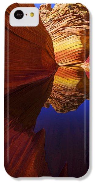 Orange iPhone 5c Case - Oasis by Chad Dutson