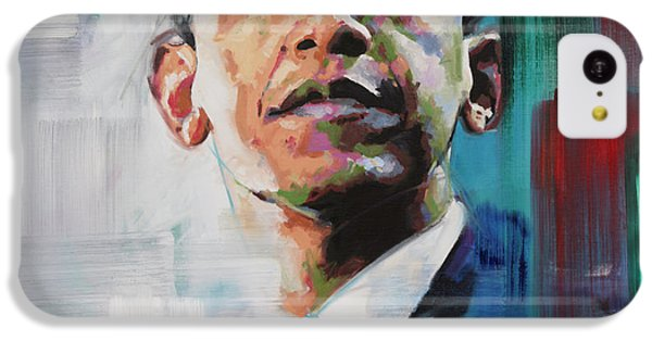 Obama IPhone 5c Case by Richard Day