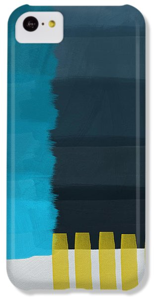 Ocean Front Walk- Art By Linda Woods IPhone 5c Case by Linda Woods