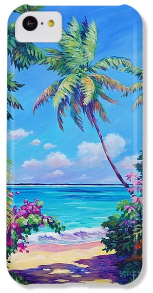 Landscapes iPhone 5c Case - Ocean View With Breadfruit Tree by John Clark