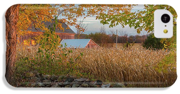 IPhone 5c Case featuring the photograph October Morning 2016 by Bill Wakeley