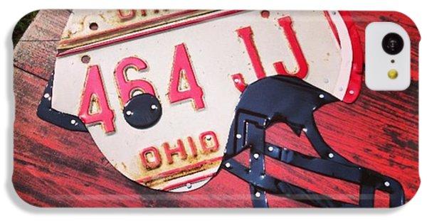 Sport iPhone 5c Case - Ohio State #buckeyes #football Helmet - by Design Turnpike