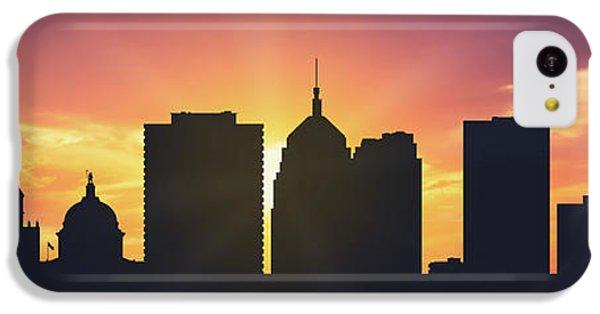 City Sunset iPhone 5c Case - Oklahoma City Sunset Usokoc-pa01 by Aged Pixel