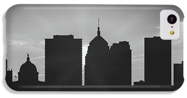 City Sunset iPhone 5c Case - Oklahoma City Sunset Usokoc-pa02 by Aged Pixel
