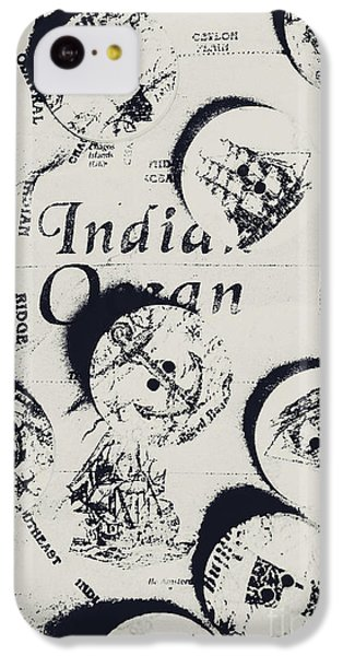 Navigation iPhone 5c Case - Old East India Trading Routes by Jorgo Photography - Wall Art Gallery