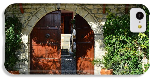 Old House Door IPhone 5c Case by Nuri Osmani