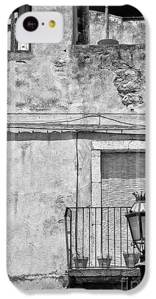 Old House In Taormina Sicily IPhone 5c Case