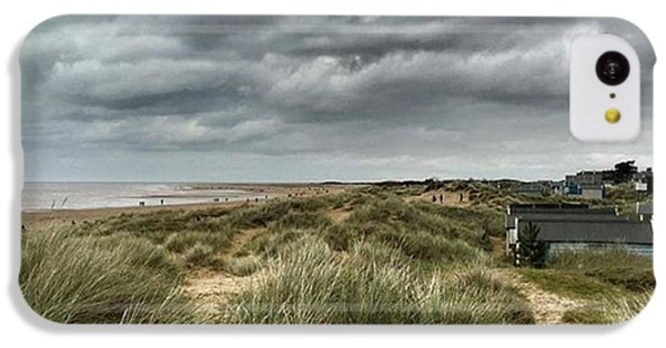 Old Hunstanton Beach, North #norfolk IPhone 5c Case by John Edwards