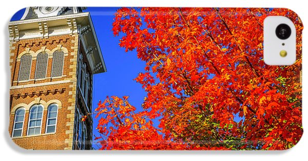 Old Main Maple IPhone 5c Case by Damon Shaw