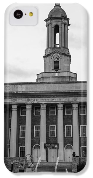 Old Main Penn State Black And White IPhone 5c Case by John McGraw