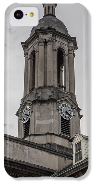 Old Main Penn State Clock  IPhone 5c Case by John McGraw
