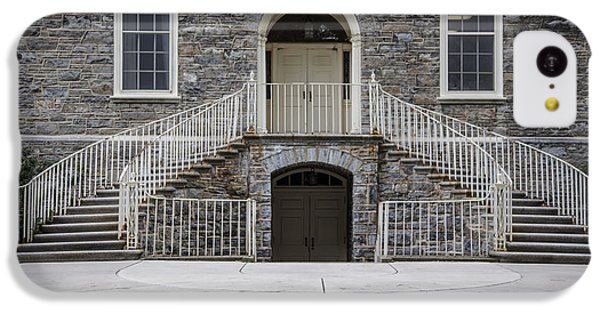Old Main Penn State Stairs  IPhone 5c Case by John McGraw