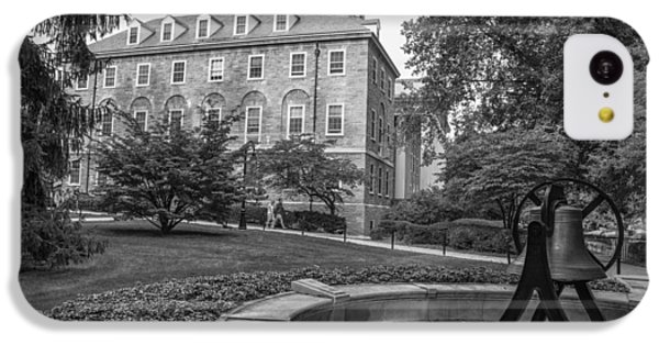 Old Main Penn State University  IPhone 5c Case by John McGraw