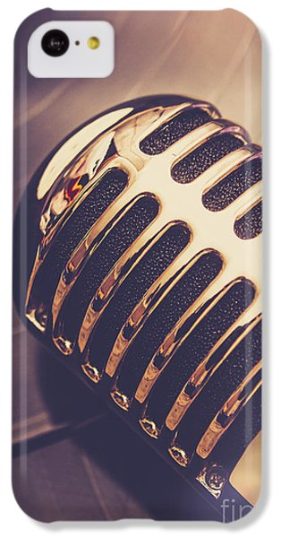 Musical iPhone 5c Case - Old Radio Nostalgia by Jorgo Photography - Wall Art Gallery