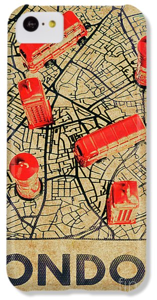 Navigation iPhone 5c Case - Old Routemaster Way by Jorgo Photography - Wall Art Gallery