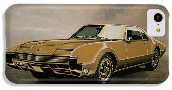 Falcon iPhone 5c Case - Oldsmobile Toronado 1965 Painting by Paul Meijering