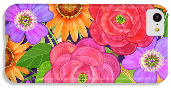 On The Bright Side - Flowers Of Faith IPhone 5c Case