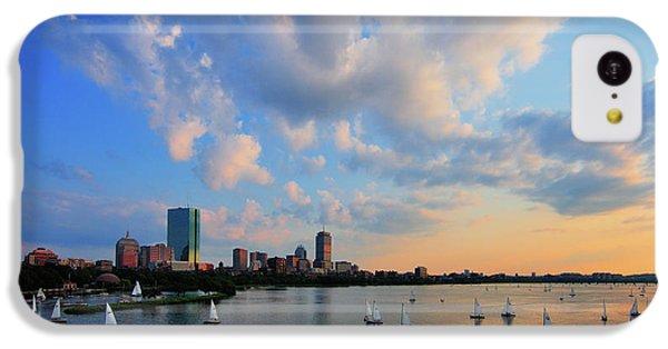 Hancock Building iPhone 5c Case - On The River by Rick Berk