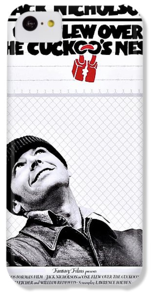 One Flew Over The Cuckoo's Nest IPhone 5c Case by Movie Poster Prints