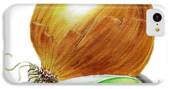 Onion And Peas IPhone 5c Case by Irina Sztukowski