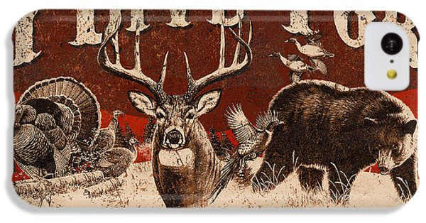 Pheasant iPhone 5c Case - Opening Day Sign by JQ Licensing