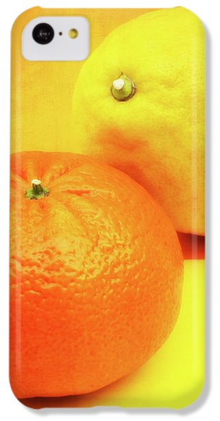 Orange And Lemon IPhone 5c Case by Wim Lanclus