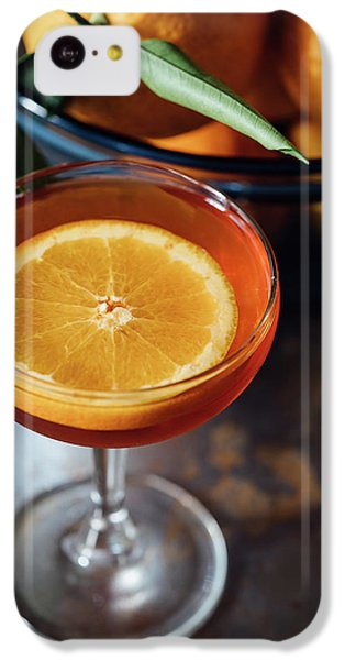 Orange iPhone 5c Case - Orange Cocktail by Happy Home Artistry
