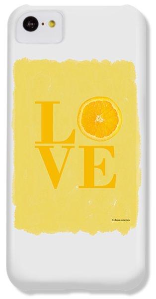 Orange IPhone 5c Case by Mark Rogan