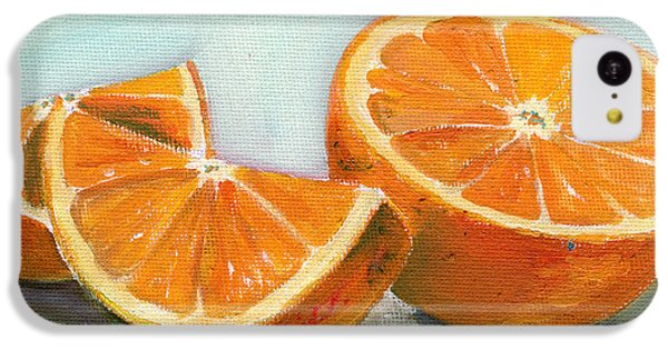 Fruits iPhone 5c Case - Orange by Sarah Lynch
