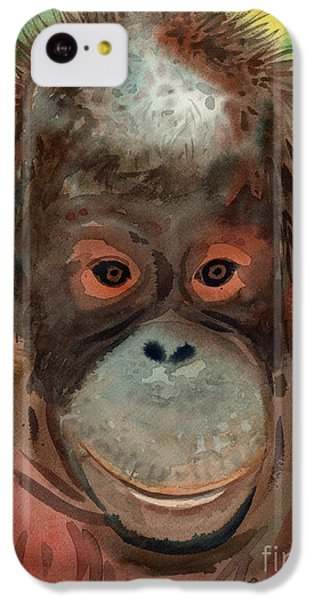 Orangutan IPhone 5c Case by Donald Maier