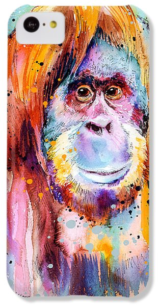 Orangutan  IPhone 5c Case by Slavi Aladjova