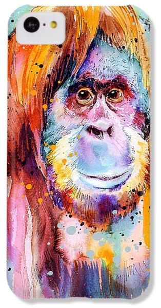 Orangutan  IPhone 5c Case by Slavi Aladjova