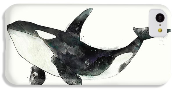 Orca From Arctic And Antarctic Chart IPhone 5c Case by Amy Hamilton