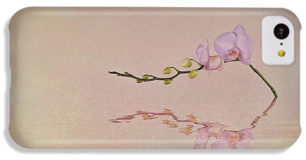 Orchid Blooms And Buds IPhone 5c Case by Tom Mc Nemar