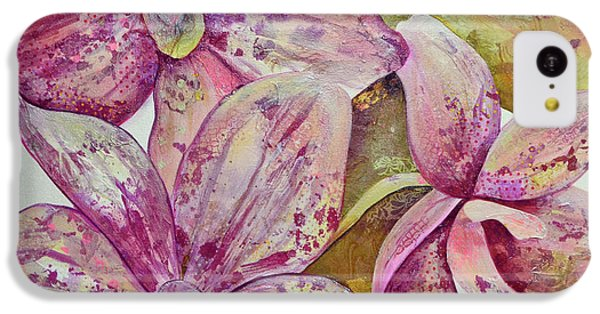 Orchid iPhone 5c Case - Orchid Envy by Shadia Derbyshire