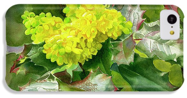 Oregon Grape Blossoms With Leaves IPhone 5c Case