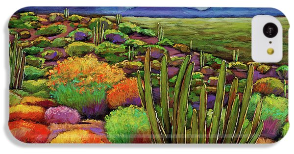 Desert iPhone 5c Case - Organ Pipe by Johnathan Harris