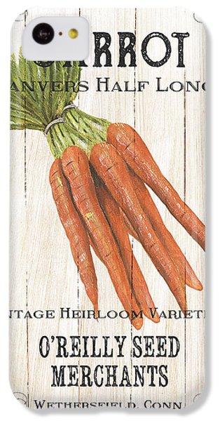 Organic Seed Packet 2 IPhone 5c Case by Debbie DeWitt
