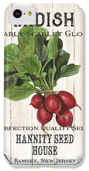 Organic Seed Packet 3 IPhone 5c Case by Debbie DeWitt