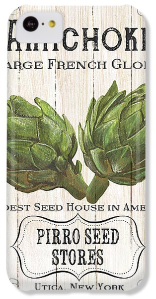 Organic Seed Packets 1 IPhone 5c Case by Debbie DeWitt
