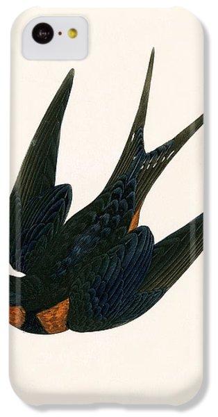 Oriental Chimney Swallow IPhone 5c Case by English School