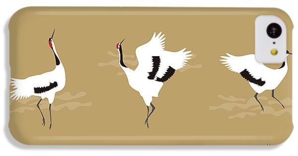 Oriental Cranes IPhone 5c Case